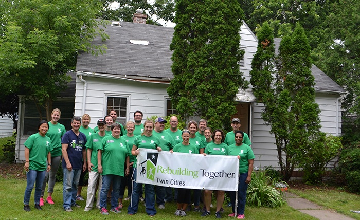Helping a Neighbor in Need - Rebuilding Together Project Day 2019