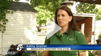 Rebuilding Together Twin Cities Banks on Volunteers to Revitalize Home of Disabled Minneapolis Women video