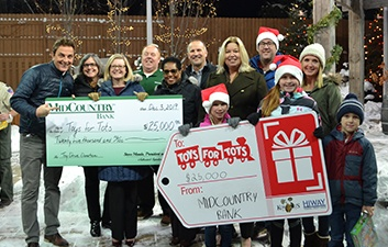 Toys for Tots 2019 Check Presentation